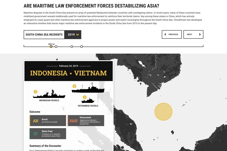 CSIS South China Sea Interactive